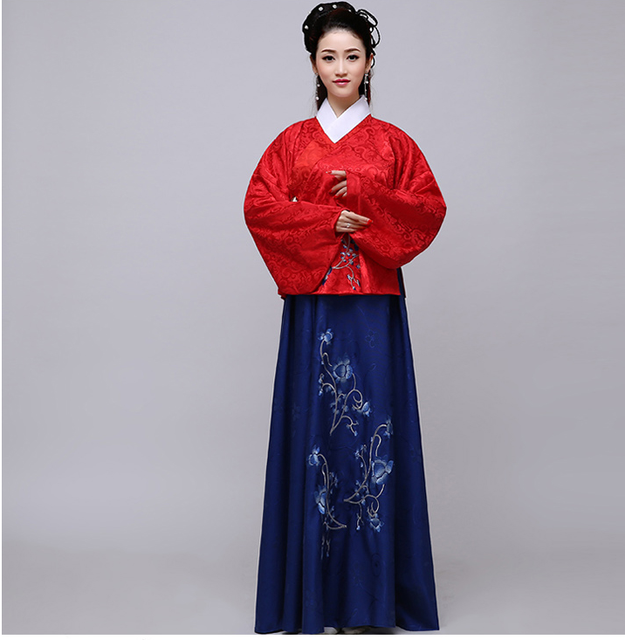 421558391 New Design Chinese Traditional Women Hanfu Dress Chinese Fairy Dress Hanfu  Clothing Tang Dynasty Chinese Ancient
