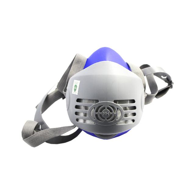 2016 nueva silicona médica máscaras máscaras contra el polvo orgánico gas venenoso en cuenta escalera de incendios respiración válvula de llenado de gas metano