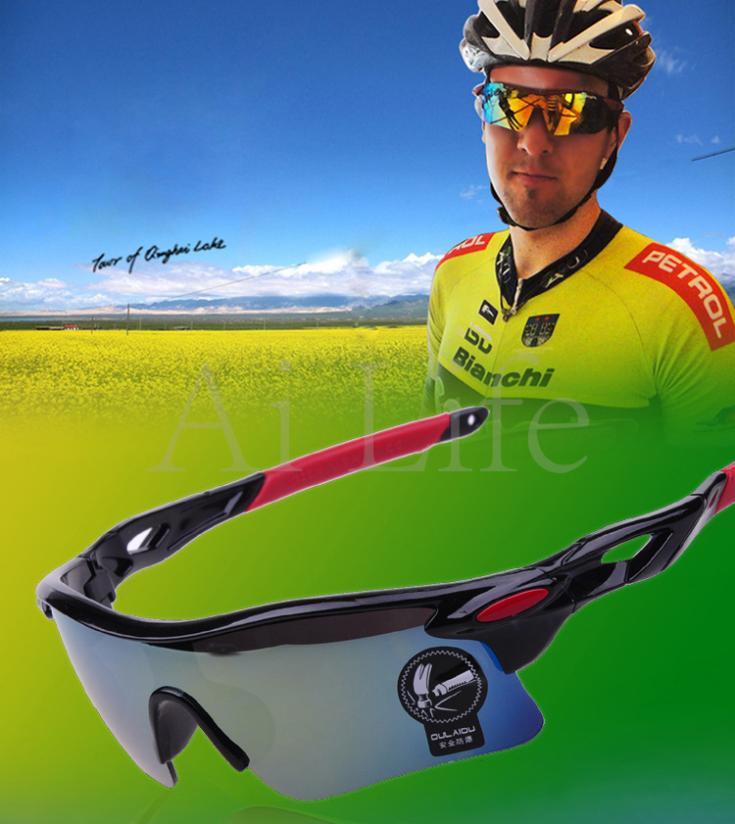 ba02135219 3. nivel de resistencia UV:UV400. 5 lentes gafas de Ciclismo de polarizadas  UV400 deportes al aire libre gafas de sol bicicleta gafas hombres ...