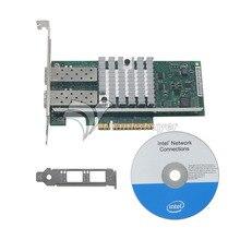 Ethernet Adaptateur 10 Gb 2 Port BNT10G42BF X520-SR2 DA2 Gigabit Fiber Carte Réseau E10G42BFSR