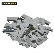 3kg/lot Tissue confetti paper  Rectangle  Silver confetti for CO2 Jet Confetti Machine