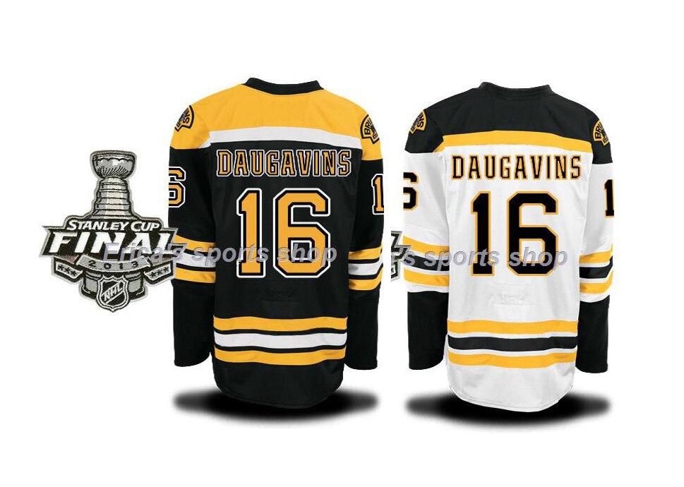 sale retailer c41ec 28261 Cheap MEN'S Boston Bruins JERSEY DAUGAVINS #16 ICE HOCKEY ...