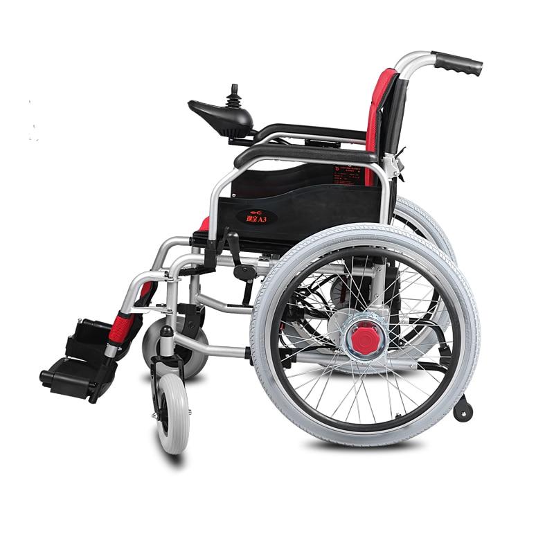 Cofoe YiXiang A3 Electric Wheelchair Big wheel Medical Equipment Power Folding Portable Lightweight Electric Wheelchair-in Braces & Supports from Beauty ... : big electric wheelchair - Cheerinfomania.Com