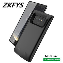 ZKFYS 5000mAh Charger Cover Battery Case for Samsung Galaxy Note 9 Ultra Thin Fast