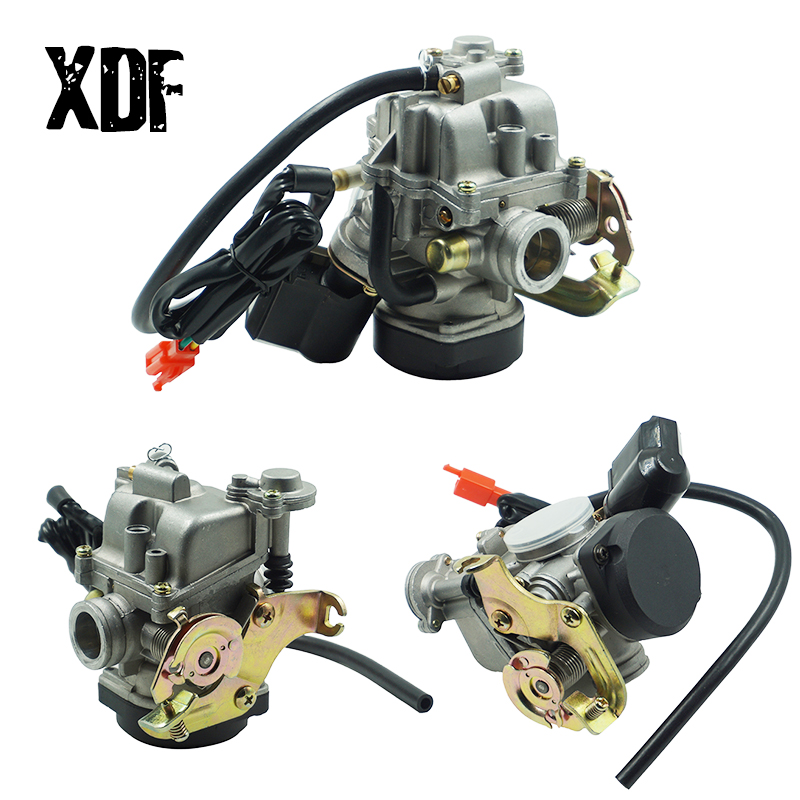 Keihin 18mm CVK PD18J Carb <font><b>Carburetor</b></font> For <font><b>GY6</b></font> <font><b>50CC</b></font> 139QMB 139QMA Scooter Jonway ATV image