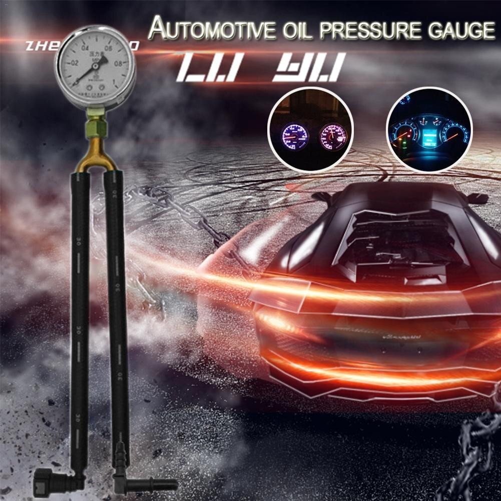 General Automobile Gasoline Pressure Gauge Oil Pressure Gauge Fuel Pressure Gauge Test Meter Test Gasoline Pressure Tool Quick-C цена