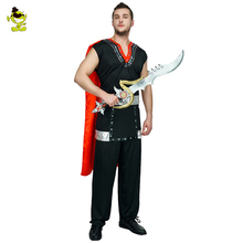 Adult men Roman Soldier Costume Roman Warrior Knight Outfit Ancient Knight Cosplay Party Halloween brave  Gladiator Costumes