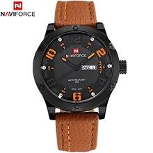 2016 Marca de Lujo de Los Hombres Relojes Deportivos hombres de Cuarzo Horas Día fecha Correa de Cuero Reloj Masculino Reloj Ocasional Militar Del Ejército de Pulsera reloj