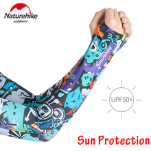 Long Arm Cover Sleeves Arm Cooling Sleeves UV Sun Protection for Cycling Driving Outdoor Sports Golf Basketball Fishing Gloves