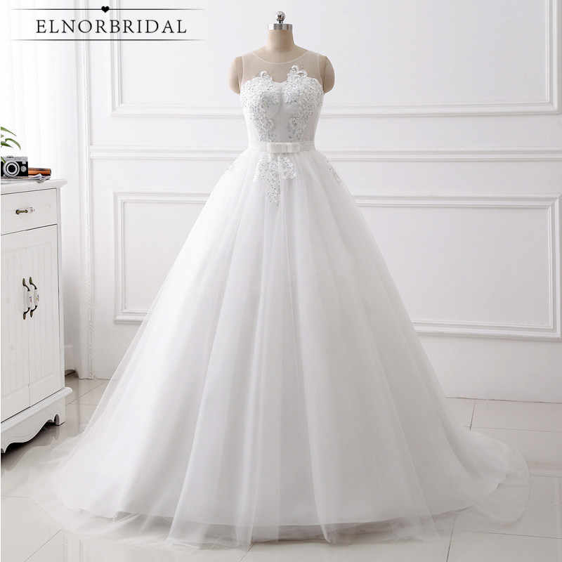 Real Photos Ball Gown Wedding Dresses Plus Size 2019 Trouwjurk Max