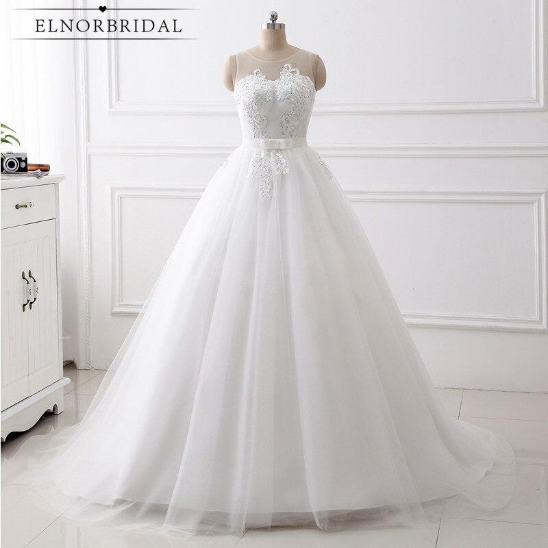 Real Photos Ball Gown Wedding Dresses Plus Size 2018 Trouwjurk Max Big Size Bridal Gowns For Fat Bridals Vestido-De-Novia