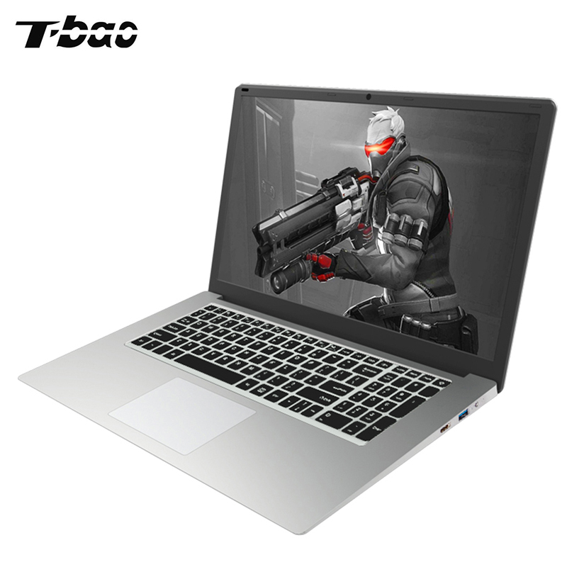 T-Bao Tbook R8S Laptop 15.6'' 16:9 Windows 10 English Version Intel Celeron N3450 Quad Core 1.1GHz 6GB 128GB HDMI Game Notebook