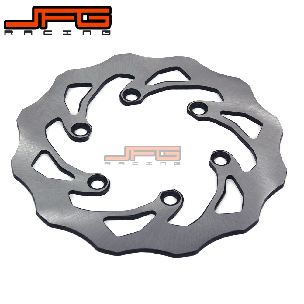 Motorcycle Stainless Steel 220MM Rear Brake Disc Rotor For KAWASAKI KDX125 KDX200 KDX 220 250 KLX250 KLX300 SUZUKI LX250 250 SB звездочка для мотоциклов lp 520 14t kawasaki kdx250 klx250 klx300 kx250 kx500 yamaha ty250 wr250 yz250 yz465 yz490 yzf350