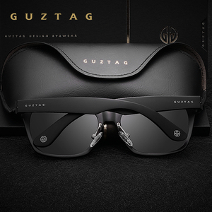 Image 3 - GUZTAG SUNGLASSES Aluminum Square Men/Women  Polarized Mirror UV400 Sun Glasses Eyewear Sunglasses For Men oculos de sol G9260