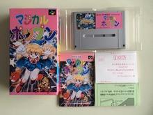 16Bit Games ** Magical POPN ( Japan NTSC J Version!! Box+Manual+Cartridge!! )