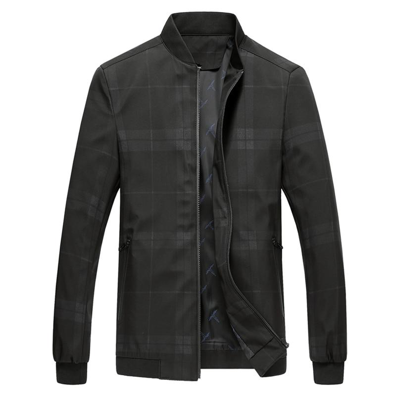 Mode Fit Printemps Business Isurvivor Hombre Automne Gray Manteaux red Casual Taille Hommes Slim Vestes Grande Mâle green 2019 Zipper navy f6g7yYbv