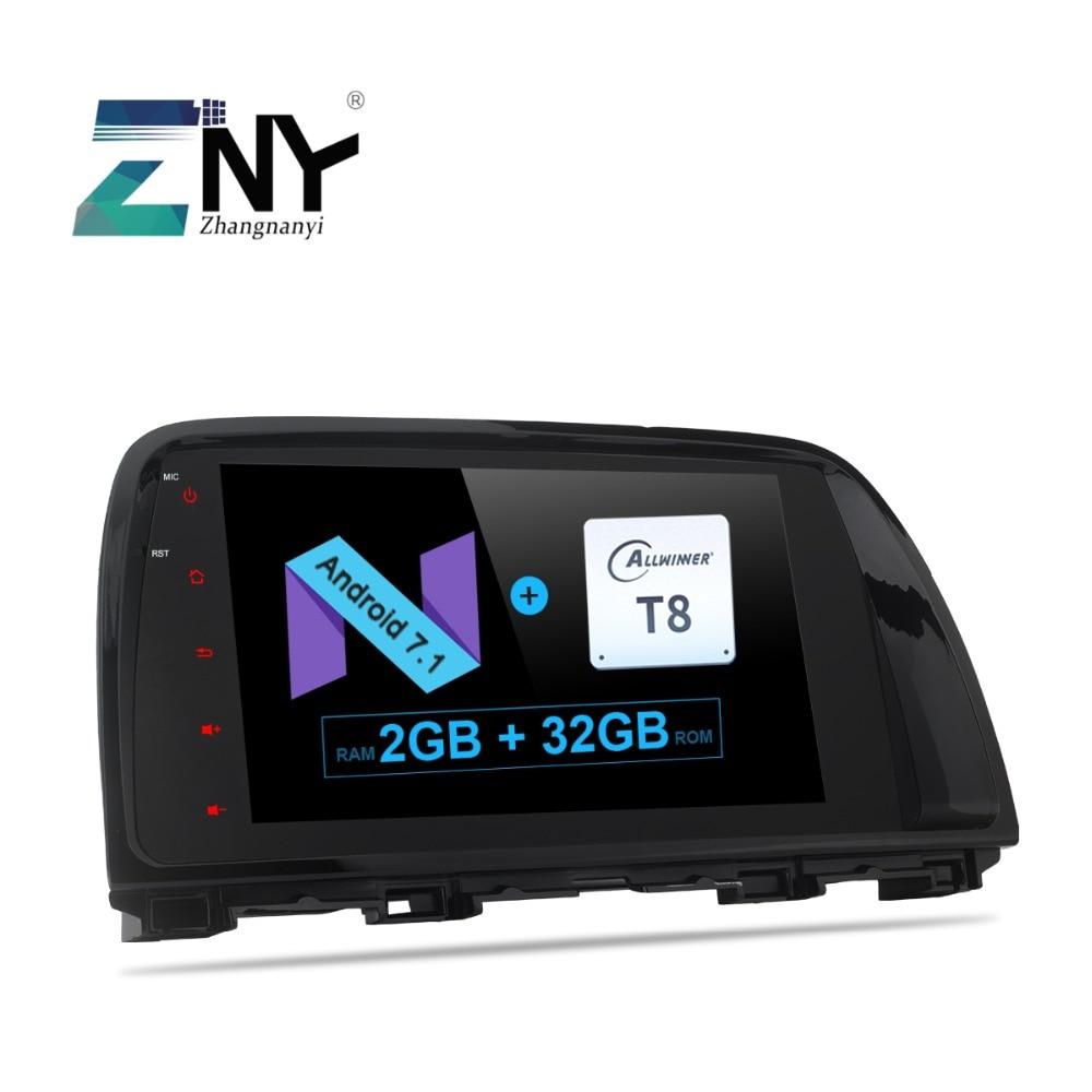 9 Android 7.1 Car Stereo For Mazda CX-5 CX5 2012 2013 2014 2015 Auto Radio Audio Video Headunit GPS Glonass Navigation No DVD rom 16g 2 din android car dvd for mazda cx 5 2012 2013 2014 navigation radio audio gps ipod bluetooth russian menu