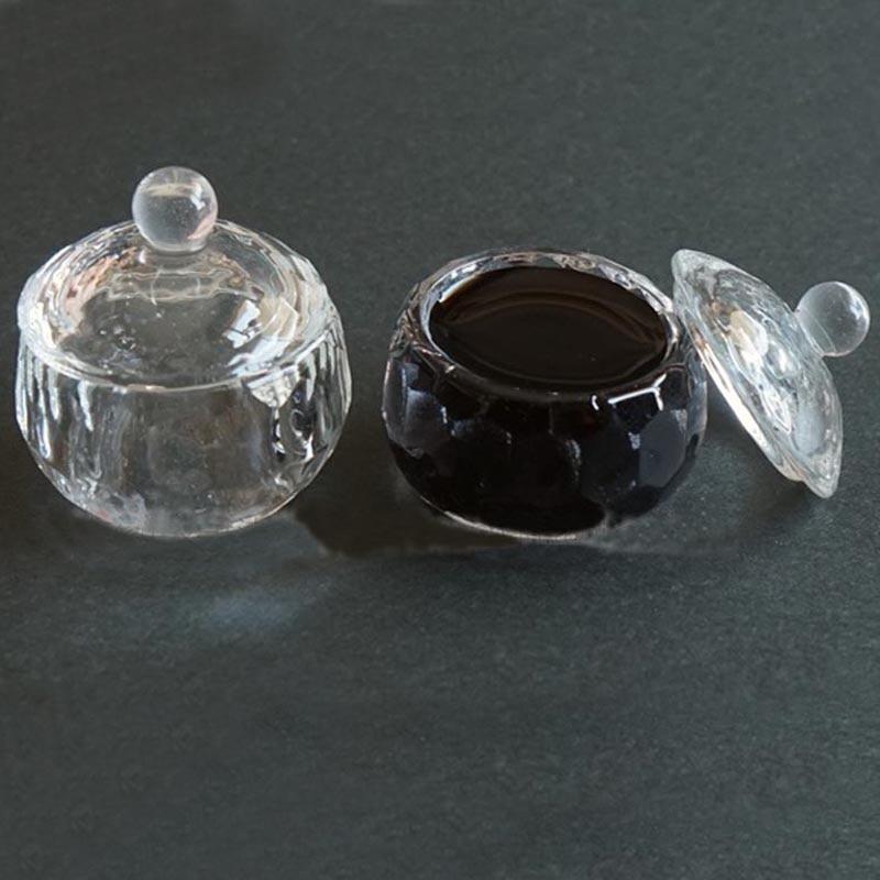 English Copperplate Vintage Dip Pen Glass Ink Holder Ink Fount