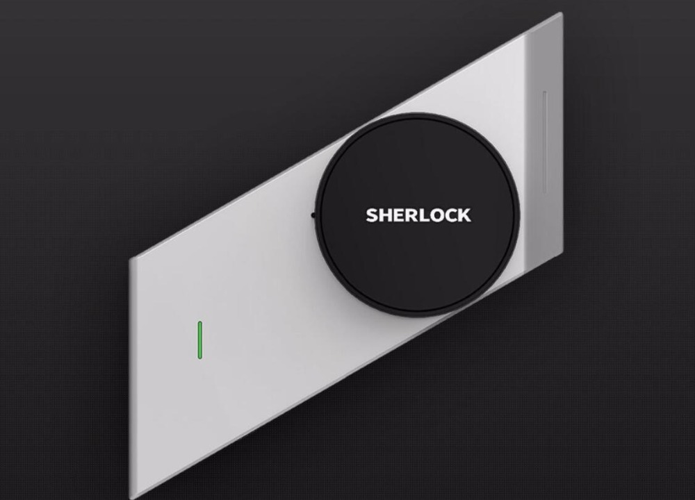 in Stock Sherlock S2 Smart Stick lock Smart door lock Bluetooth Wireless phone App Control Electronic Wireless Lock Keyless цены онлайн