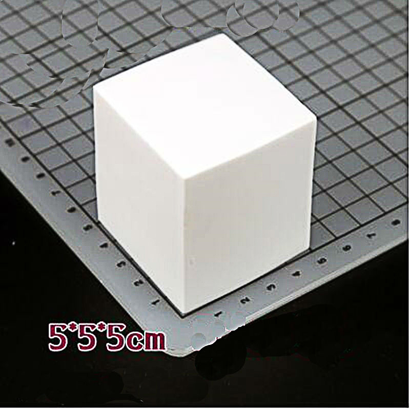 1PCS 5X5X5cm three-dimensional signature seal engraving rubber  Stamps for Scrapbooking