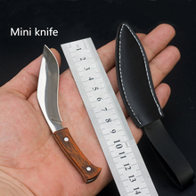 EDC stainless steel pocket knife handmade mini Nepal knives Tactical Knife Camping Knife Survival Hiking cutter outdoor tool