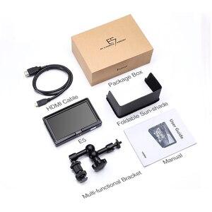 Image 5 - Eyoyo E5 5 pollici 4K HDMI DSLR Field Camera Monitor Ultra Luminoso 400cd/m2 Full HD 1920x1080 LCD IPS per Ambientazione Esterna