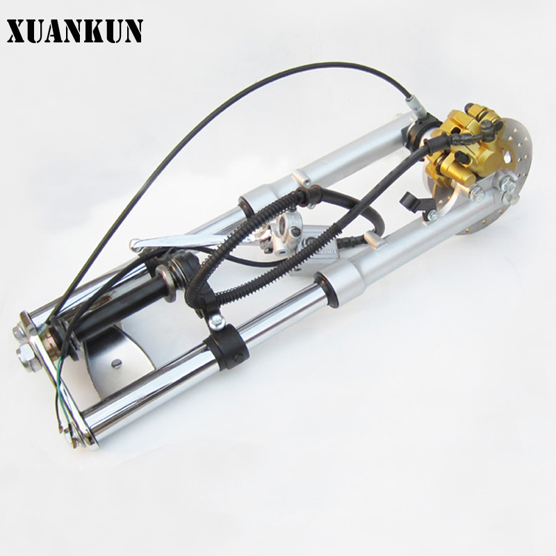 все цены на  XUANKUN Monkeybike Small Monkey Car Modified Front Disc Brakes Are Damping Direction Of The Assembly  онлайн