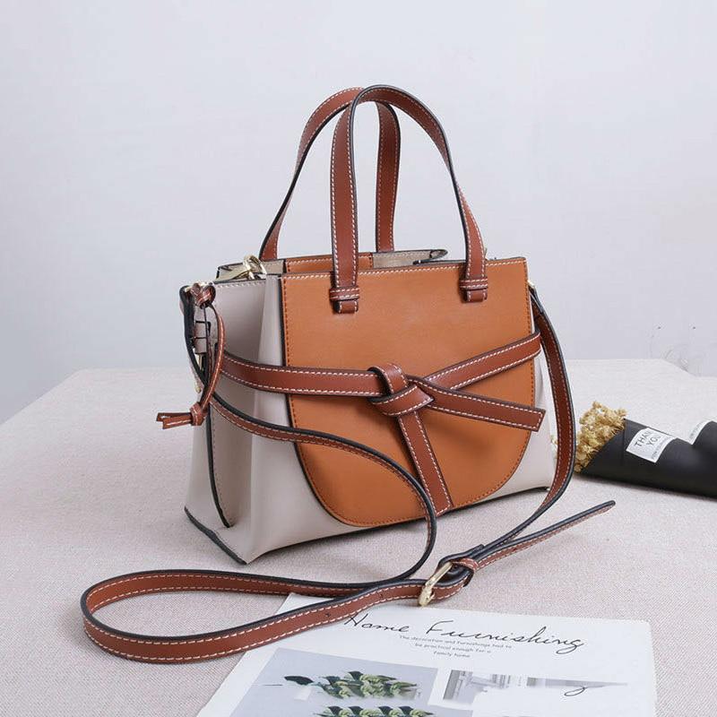 High Quality Split Leather Crossbody Bag For Women Fashion Luxury Handbags Women Bags Designer Women Handbag Bolsas Feminina