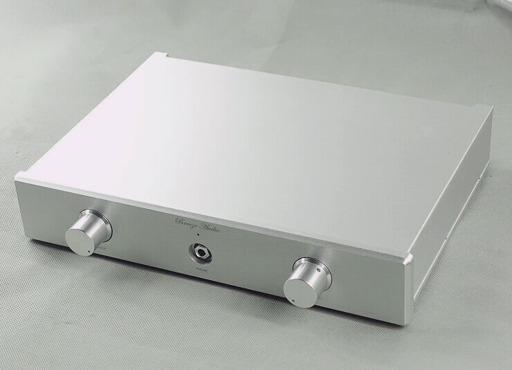 Aluminum Chassis Amplifier Enclosure Preamp Case Audio Amplifier Cabinet DAC box wa60 full aluminum amplifier enclosure mini amp case preamp box dac chassis