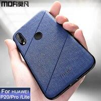 Funda MOFi original para Huawei P20 Pro  carcasa Nova 3e  carcasa trasera a prueba de golpes  fundas de negocios coque para Huawei P20 Lite