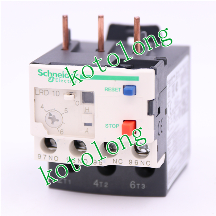 TeSys LRD thermal overload relays LR-D10 LRD10 4-6A Class 10A chnt nr2 25 z 4a 6a thermal overload relay cjx2