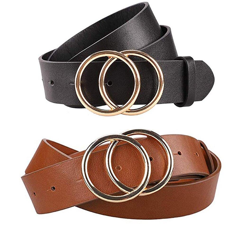Belt For Women's Fashion Soft Leather Waist Belts Jeans Dress Accessories  Slender Elegant Lady Waistbands Alloy Buckle 2019|Women's Belts| -  AliExpress