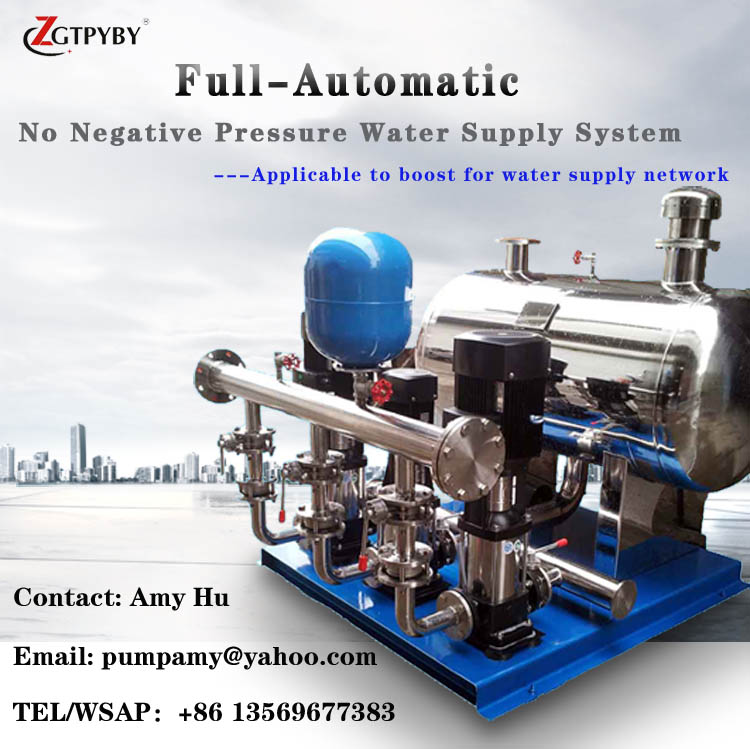 2016 new stainless steel inline water booster pump pressure tank booster pump isw 100 100a water pump 4 inch horizontal inline pump for sale