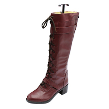 TIGER & BUNNY Cosplay BARNABY BROOKS JR shoes shoe boot Mens boots High Quality Leather Custom