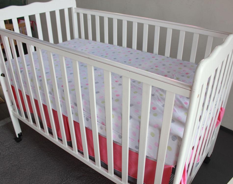 7 Pcs Flamingos Baby Bedding Set Baby cradle crib cot bedding set ...