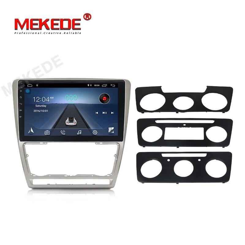 Lecteur multimédia de voiture DVD GPS MEKEDE Android 8.1 pour SKODA Octavia 2 2011-2013 A5 lecteur Audio de Bideo de Navigation dvd de voiture