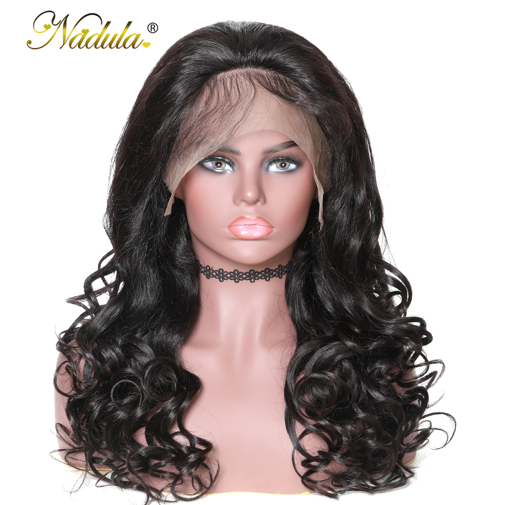 Nadula Hair 360 Lace Frontal Wig Pre Plucked With Baby Hair 360 Lace Wig 150 180