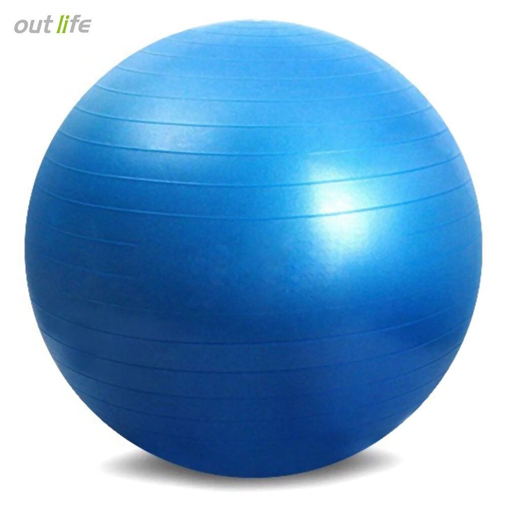 date 65 cm yoga bonnet jaune pilates Épaissir ballons de yoga pas d