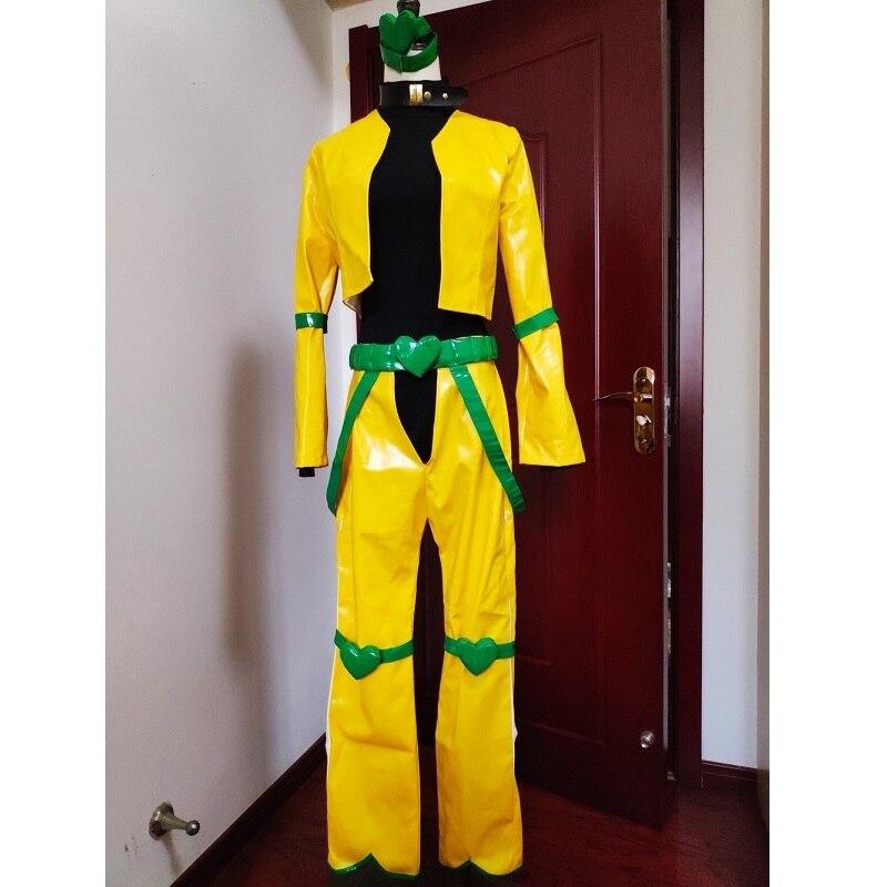 JoJo JoJo's Bizarre Adventure Cosplay Dio Brando Cosplay Costume Anime Cosplay Outfits Suits Halloween Costumes