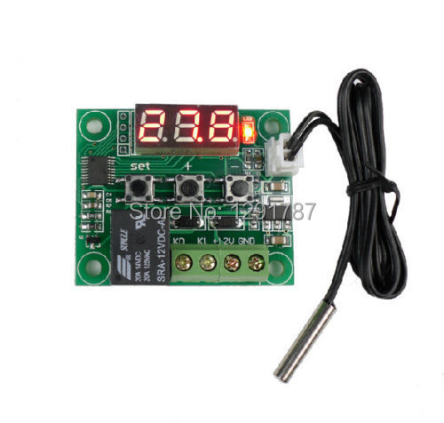 -50-110 Degree DC 12V Heat Cool Temp Thermostat Temperature Control Switch Free shipping