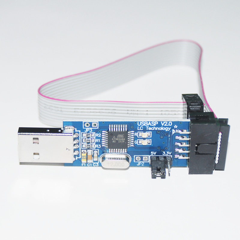 Usbasp usbisp avr programmer module for arduino usb isp