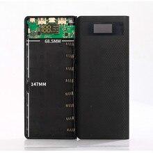 Melhor Caso placa PCB soldagem-free 8×18650 display digital de energia móvel de nidificação para Banco De Potência DIY