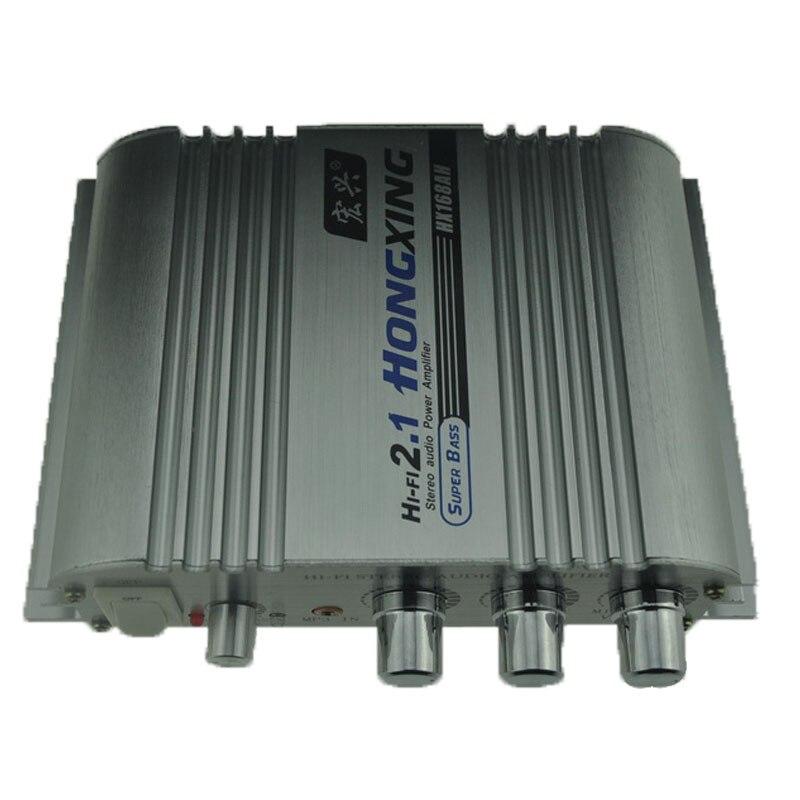 hot 12V Power Mini HiFi Audio Stereo AMP font b Amplifier b font For Car Home