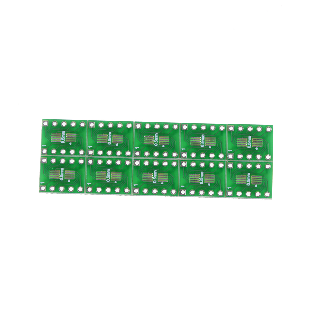 10 шт SOT23 SOP10 MSOP10 Umax SOP23 к DIP10 коммутационная панель SMD к Соединительная плата типа DIP 0,5 мм/0,95 мм до 2,54 мм DIP-контактный печатной платы преобразов...
