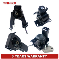 4pcs Front Engine Motor Trans Mount Set Fit for Toyota Corolla 1.8L 03 08 Auto