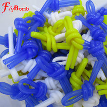 15 PCS White Yellow Blue Tennis Racket Damper Knots Rubber Shock Absorber to Reduce Tenis Racquet Vibration Dampeners Raqueta(China)