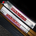 Car Styling Door Sill Protectors For Nissan Qashqai Welcome Enter Pedal Stainless Steel Scuff Plates Trim Strip For Qashqai 2016