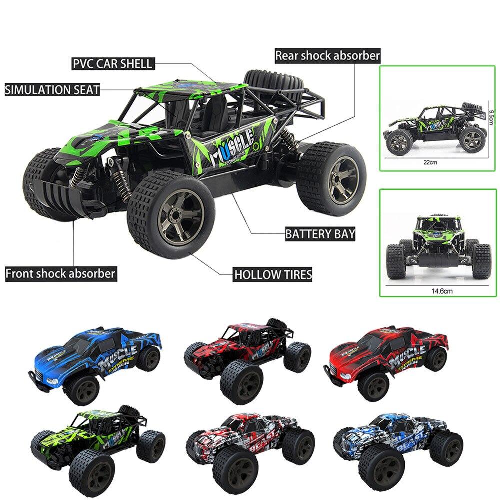 מהירות JJRC קרוס קאנטרי מצחיק 1: 20 2WD - שלט רחוק צעצועים