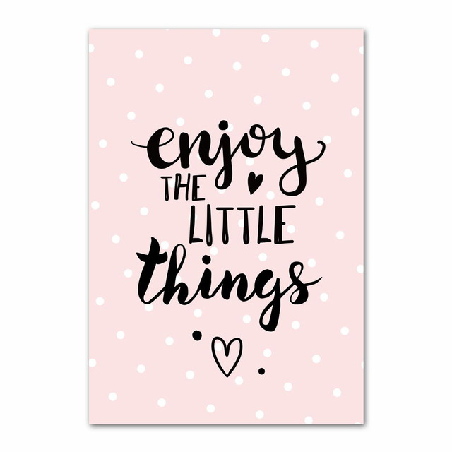 US $2 4 60% OFF|Pink Baby Girl Room Decor Nordic Poster Cartoon Pictures  For Children Room Posters And Prints Wall Art Canvas Painting Unframed-in