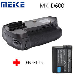 Meike MK-D600 Battery Grip For Nikon D600 D610 DSLR Camera as MB-D14 + EN-EL15